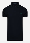 Twin tipped polo - navy ivy