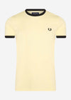 fred perry t-shirt lemon