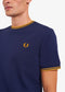 Twin Tipped t-shirt aw - carbon blue