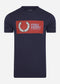Sportswear t-shirt -carbon blue