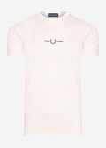 fred perry t-shirt wit