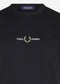 fred perry t-shirt zwart