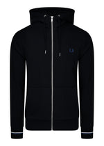 fred perry vest met capuchon