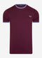 Twin tipped t-shirt - mahogany
