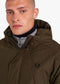 fred perry parka winterjas