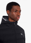 fred perry winterjas zwart