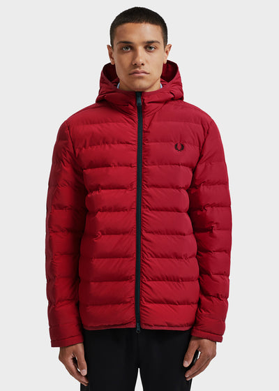 INSULATED HOODED JACKET - SIREN
