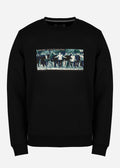 Green street sweat - black