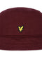 lyle and scott bucket hat merlot