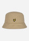 Cotton twill bucket hat - sand storm