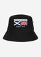 Heritage zip bucket hat - jet black