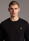 lyle and scott crewneck sweater trui zwart