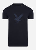 lyle and scott embroidered eagle t-shirt