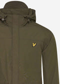 lyle and scott hooded pcoket jacket green