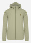 lyle and scott jas licht groen moss