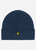 lyle and scott beanie navy