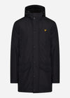 Technical parka - jet black