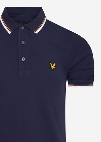 lyle and scott polo tipped