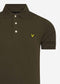 lyle and scott polo trek green