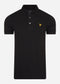 lyle and scott polo zwart
