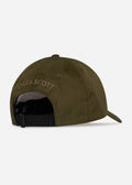 lyle and scott ripstop cap trek green