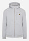 lyle and scott softshell jas grey fog