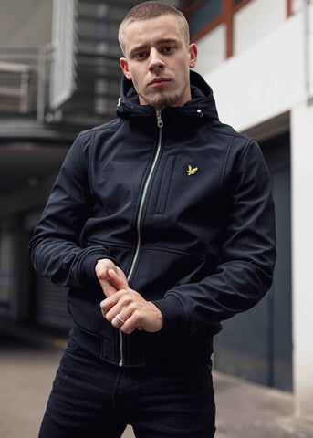 lyle and scott softshell jas winter