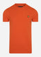 Plain t-shirt - burnt orange