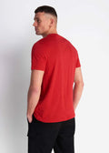 lyle and scott t-shirt rood - gala red