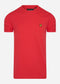Crew neck t-shirt - gala red