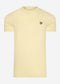 Plain t-shirt - lemon
