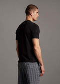 lyle and scott t-shirt zwart black