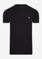 Crew neck t-shirt - jet black