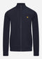 Zip through funnel neck soft shell - dark navy