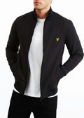 lyle and scott vest zwart