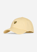 lyle and scott baseball cap lemon