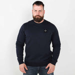 Mastrum training crewneck sweater trui dark navy
