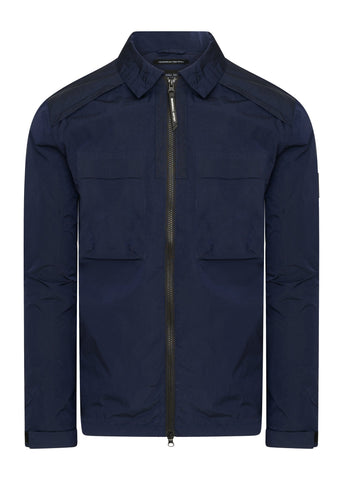 marshall artist overshirt navy