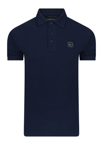 marshall artist polo navy