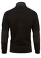 Hybrid tech track top - black