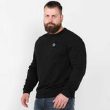 Mastrum training crewneck sweater trui Jet Black