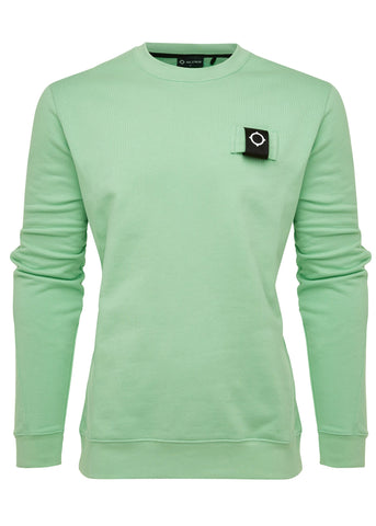 mastrum crewneck trui mint