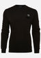 mastrum crewneck sweater zwart black