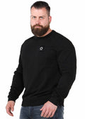 mastrum crewneck sweater zwart