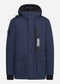 Down torch parka - true navy