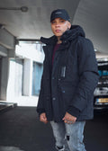 winterjas mastrum down torch parka zwart