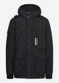 mastrum down torch parka zwart