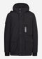 Torch down parka - jet black