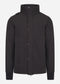 Funnel neck softshell - jet black