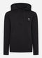 Overhead training hoody - jet black